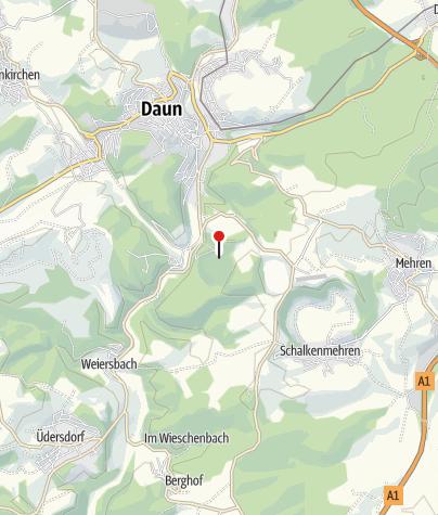 Map / Gemünden maar nature pool