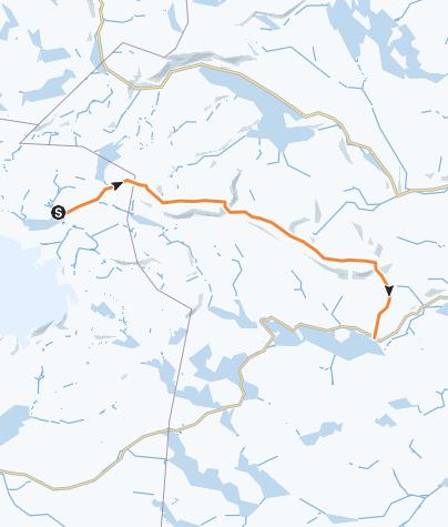 Map / Hallingskarvet på langs