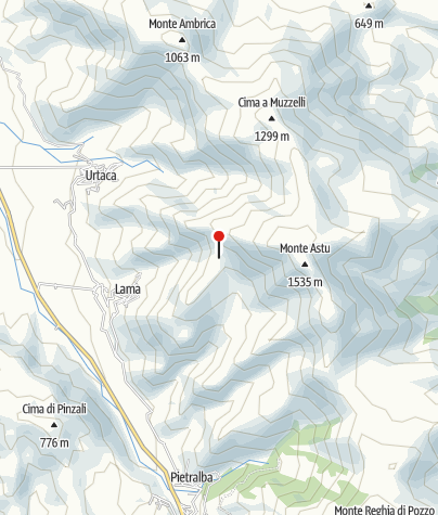 Karte / Refuge du Prunincu