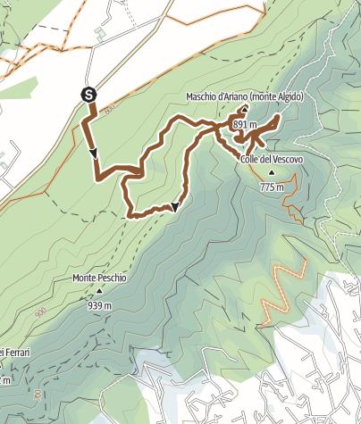 Map / Vivaro - Maschio Ariano - Vivaro