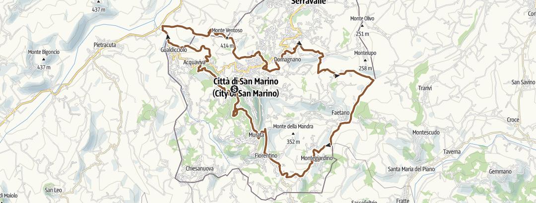 地图 / San Marino a 360 gradi !!!