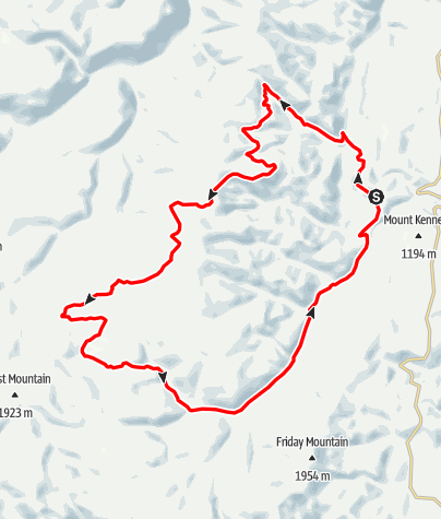 Map / Whipsaw Creek Quading Loop