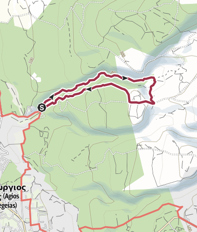 Mappa / Avakas Gorge