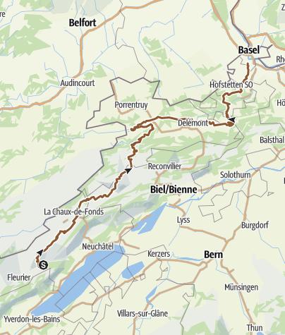 Carte / Parcours - GPX du 16 août 2020