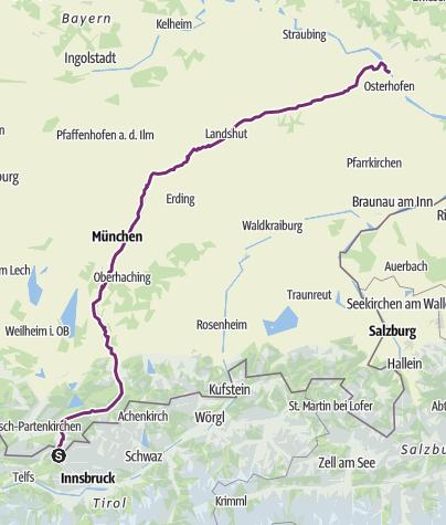 Isar Fluss Karte.Isarradweg Classic Fernradweg Outdooractive Com