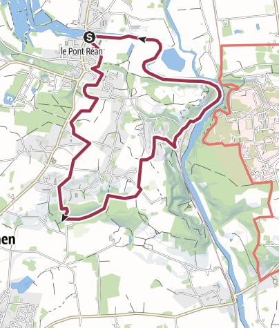 Map / Le Boel - Guichen (35)