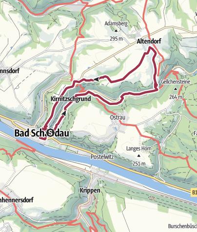 Wandern im elbsandsteingebirge bad schandau