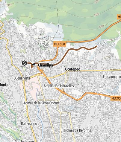 Map / punto de reunion para mañana a la cueva celestial