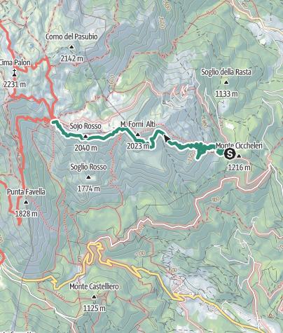 Cartina / Strada delle 52 gallerie