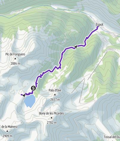 Map / Espot-José M. Blanc