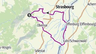 Mapa / Proposition Sortie 2 Avril 125Km