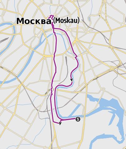 Map / Огни Москвы