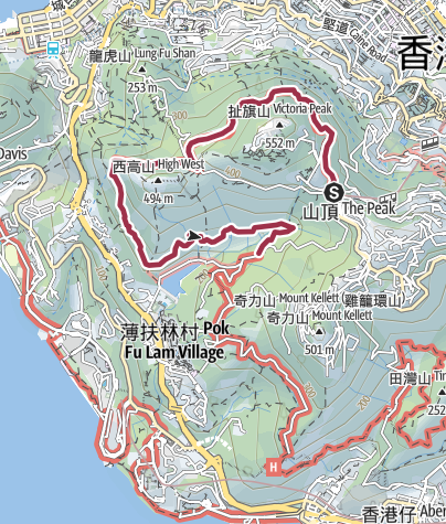 Map / Hong Kong Trail - Section 1