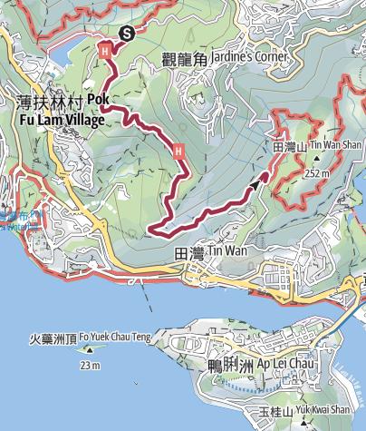 Map / Hong Kong Trail - Section 2
