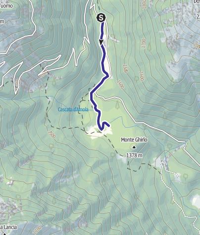 Karte / Sarca di Nambrone PT1