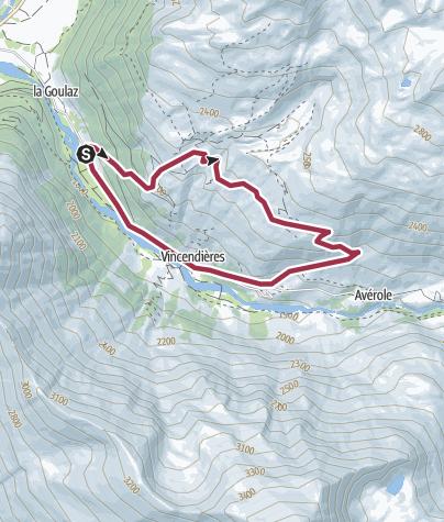 Map / Boucle de la Mottuaz