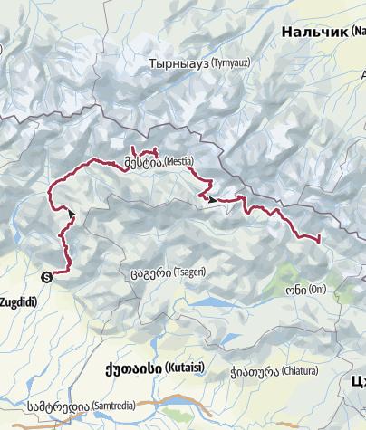 Map / Samegreli-svaneti-racha