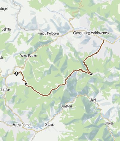 Map / mestecani-Giumalau-Rarau-Clung