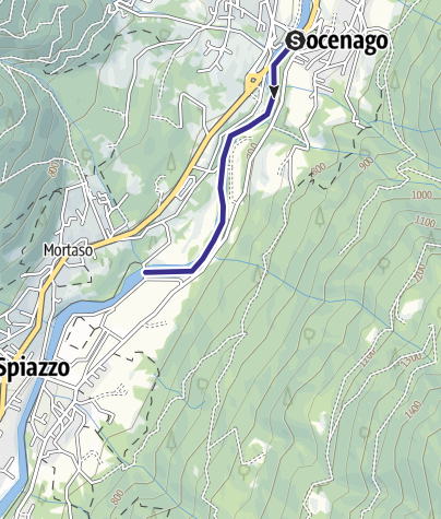 Map / Fiume Sarca NK2
