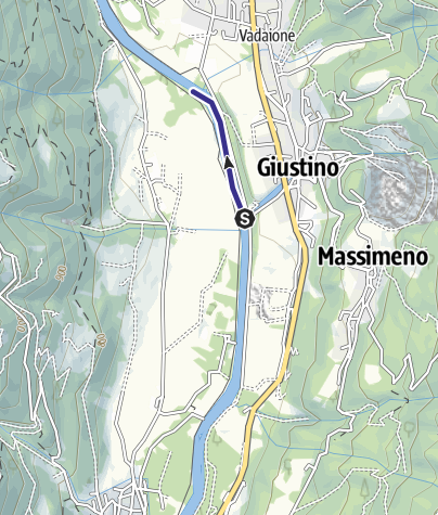 Mappa / Fiume Sarca NK3