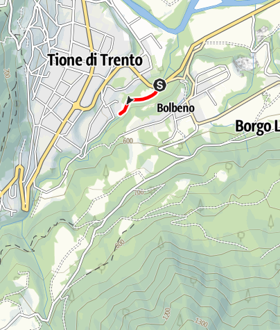 Map / Torrente Arnò PP3