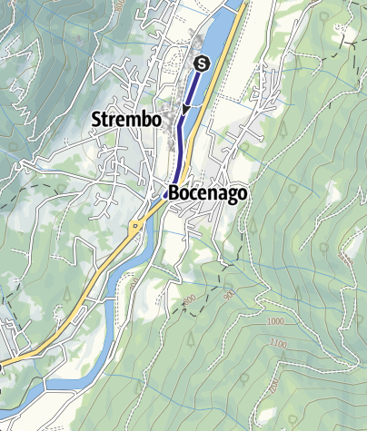 Map / Fiume Sarca PP4