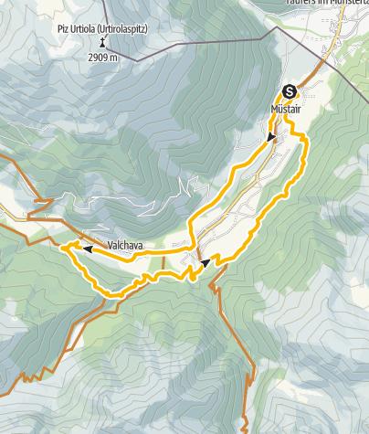 Map / Talrunde Val Müstair – Auf den Spuren der einheimischen Bike-Cracks