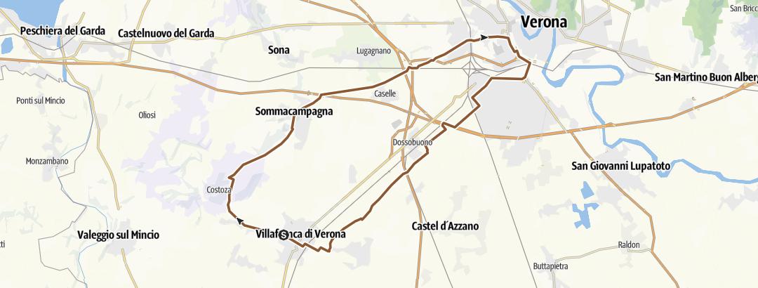 Térkép / villafranca verona