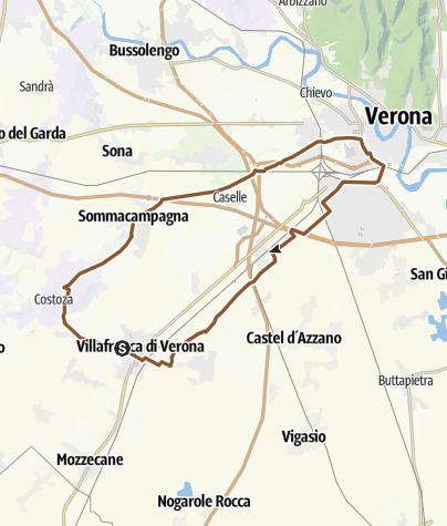 Kartta / villafranca verona