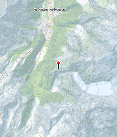Karte / Refuge Tré la Tête