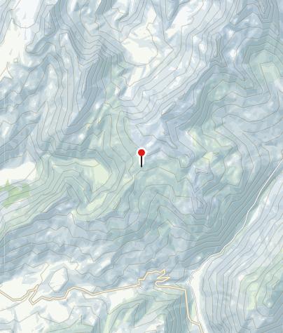 Karte / refuge du Col de la Croix du Bonhomme