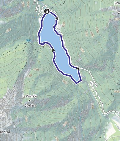 Karte / Lago di Malga Boazzo 2