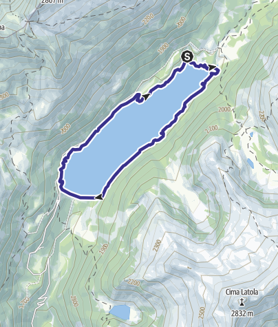 Map / Lago di Malga Bissina 3