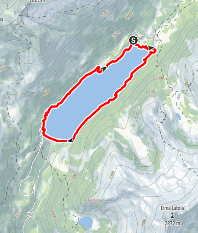 Map / Lago di Malga Bissina 3