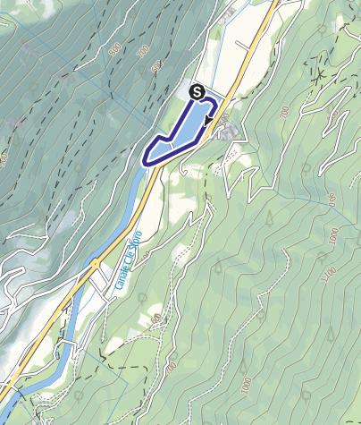 Mappa / Lago di Cimego 4
