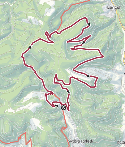 Map / To Seltehbach waterfall