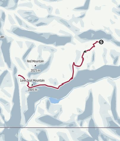 Map / Skyline2 trail