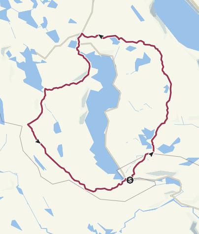 Map / Rundt om Nesvatn