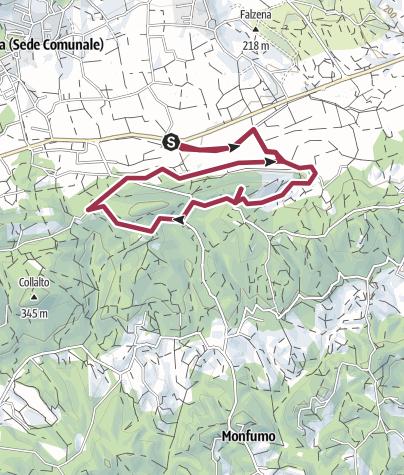 Map / Da Castelcies verso Costalunga
