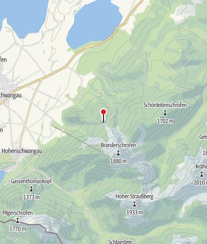 Karte / Rohrkopfhütte