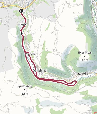 Map / YNYSDDU LONG WALK