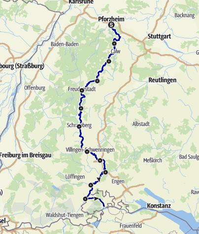 Karte / Ostweg