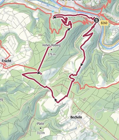 Karte / Römertürme