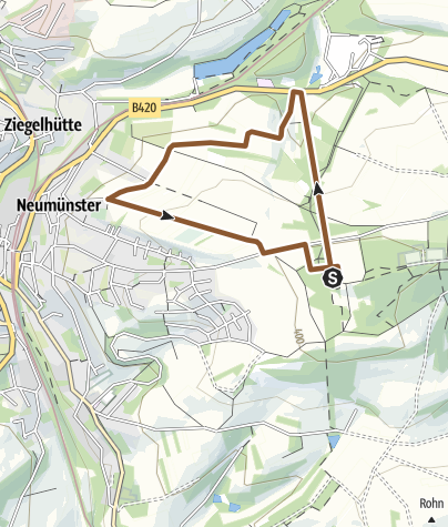 Karte / Flowtrail Ottweiler