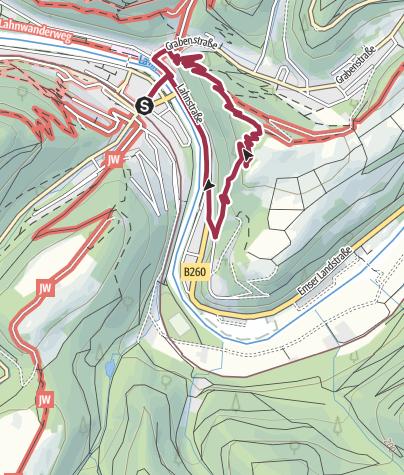 Karte / Baedeckers Felsenweg