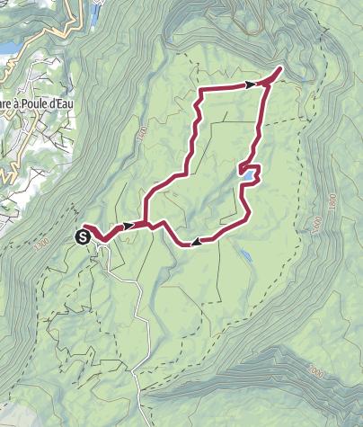 Map / refuge de bélouve, 29 oct. 2016 14:03:39