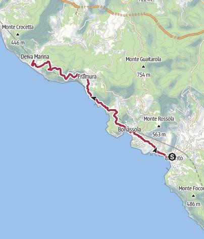 Map / BONASSOLA DEIVA MARINA