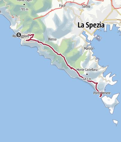 Map / Riomaggiore Portovenere