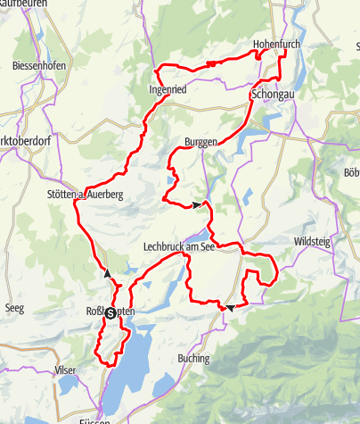 Karte / Auerbergland@venture