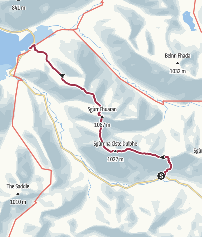 Map / Five Sisters of Kintail
